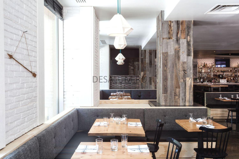 деревянные перегородки для кафе