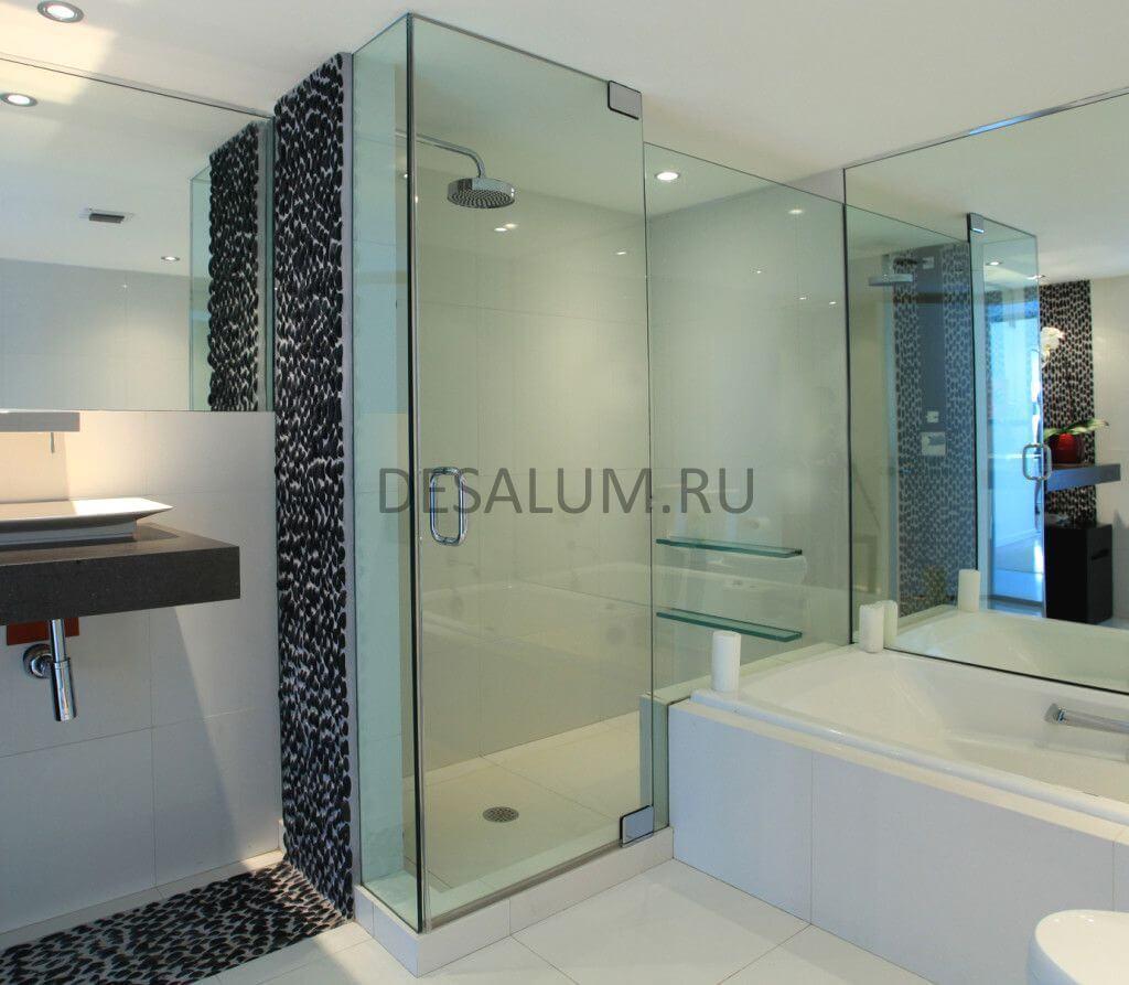 Раздвижные двери для душа desalum