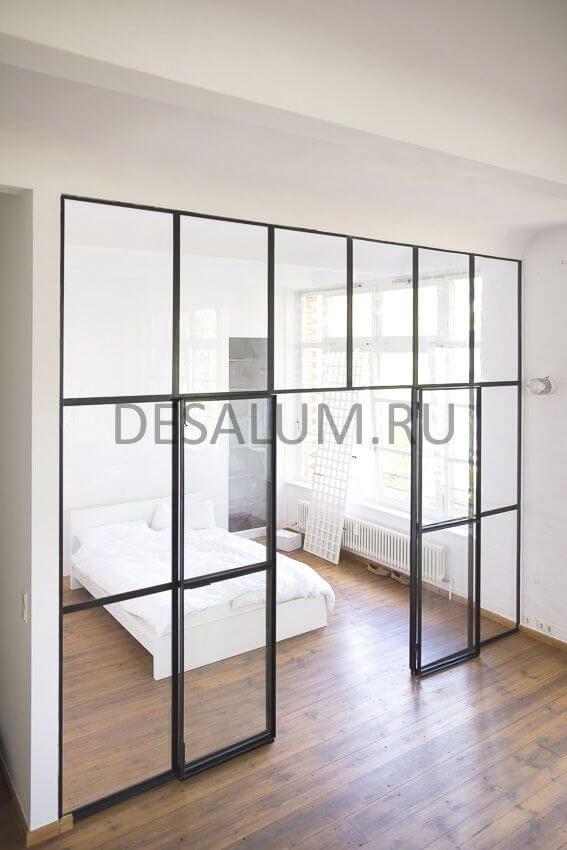 Раздвижные стеклянные двери desalum