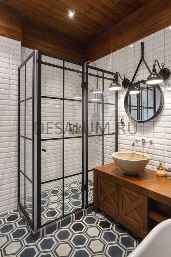 Складные двери в ванную комнату desalum