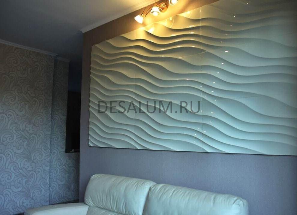 Стеновые панели для коридора desalum