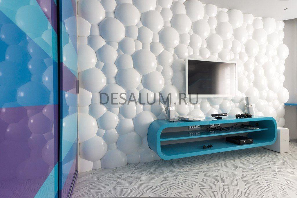 Стеновые панели для спальни desalum