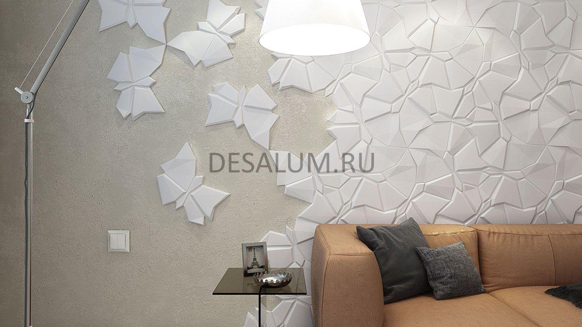 Стеновые панели из гипса desalum