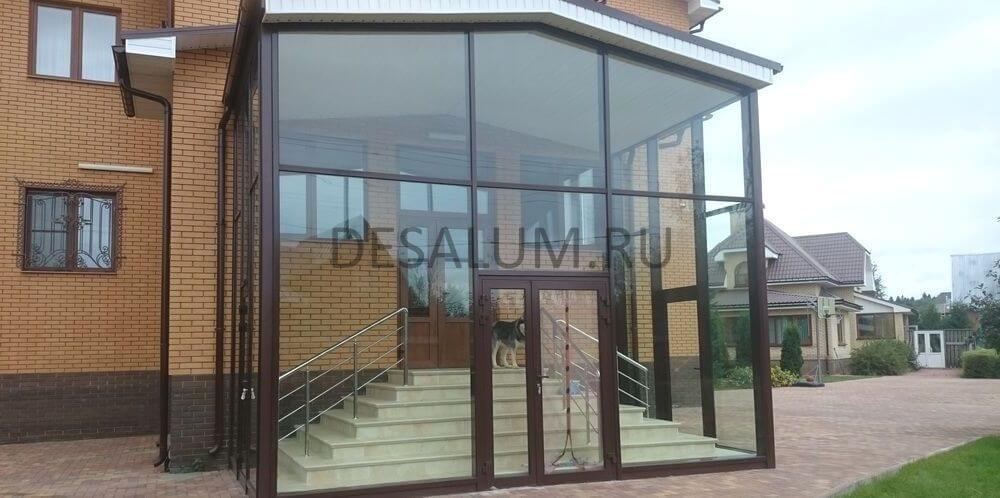 алюминиевые входные группы desalum