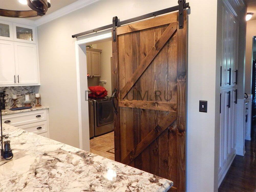 Амбарные двери в стиле лофт desalum