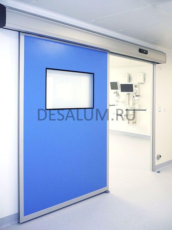 Автоматические двери для медицинских учреждений desalum