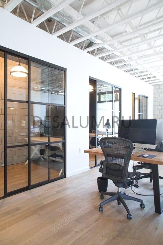 Модульные перегородки для офиса desalum