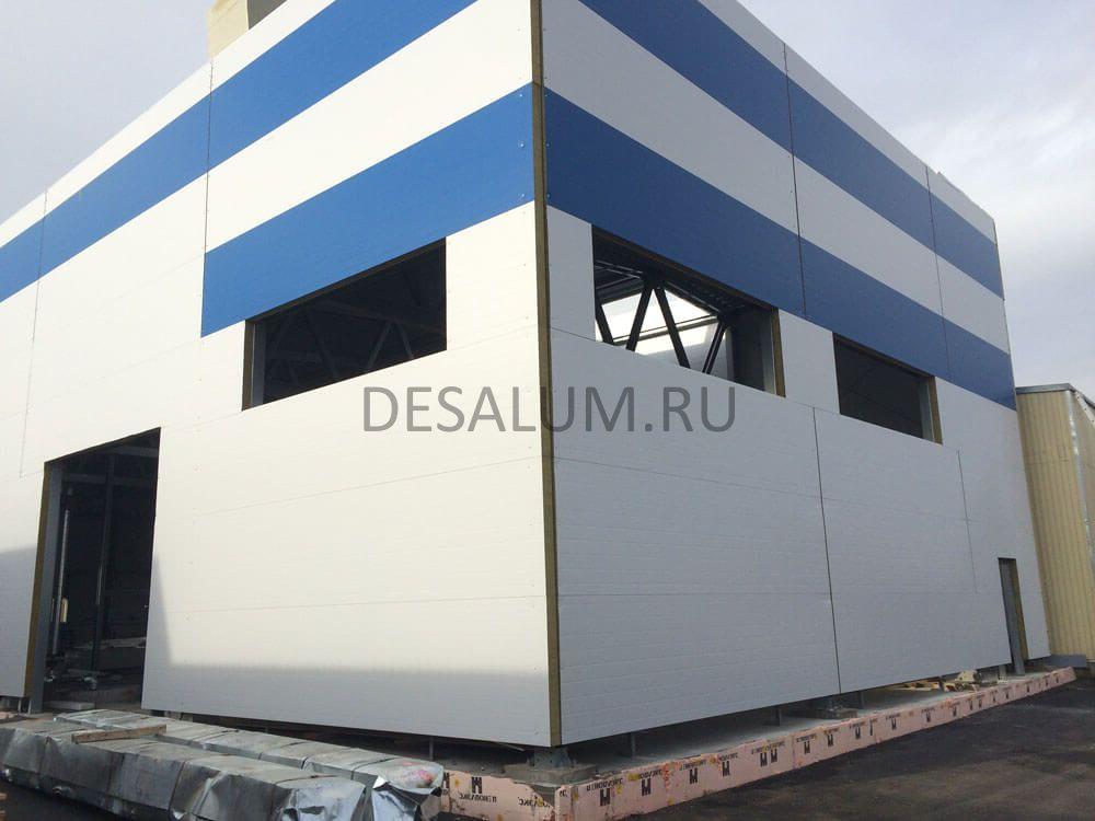 Трехслойные стеновые панели desalum