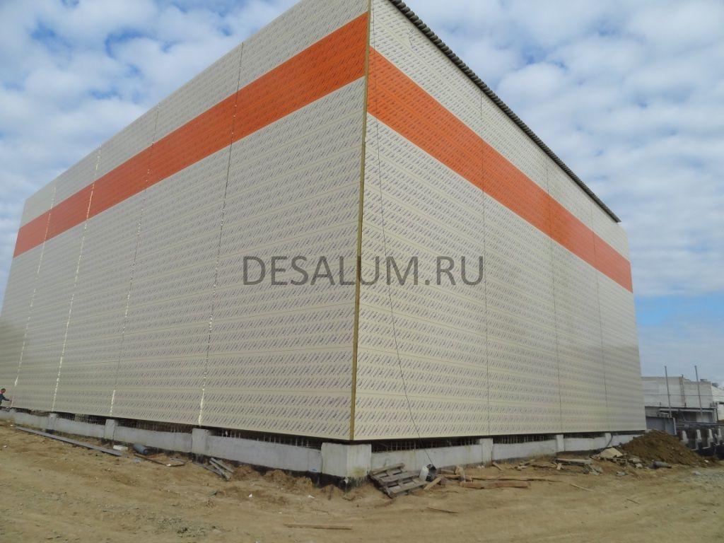 наружные стеновые сендвич панели desalum