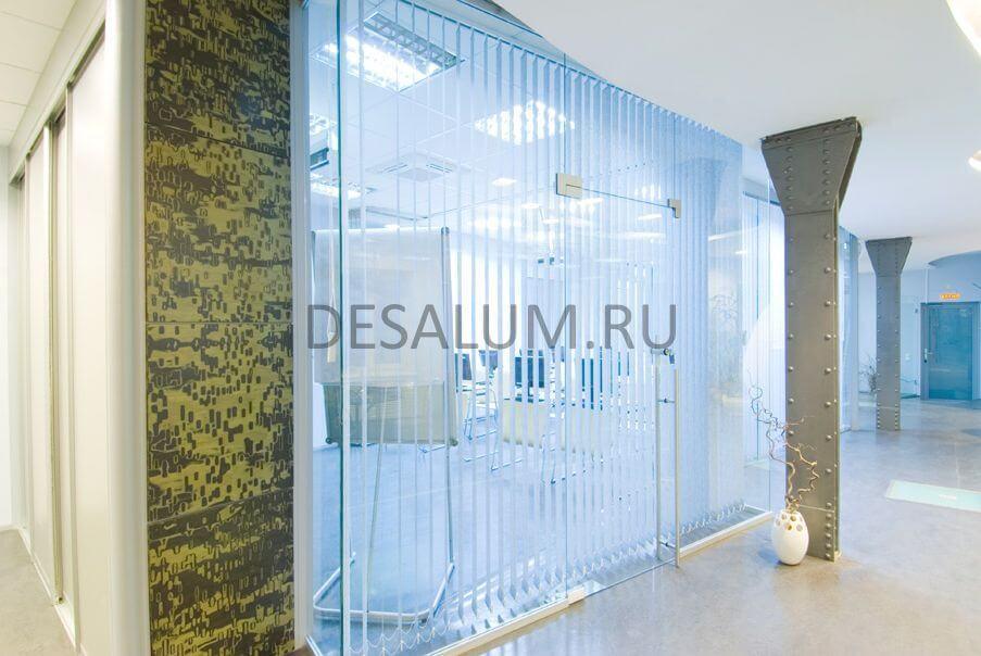 Офисные перегородки из поликарбоната desalum
