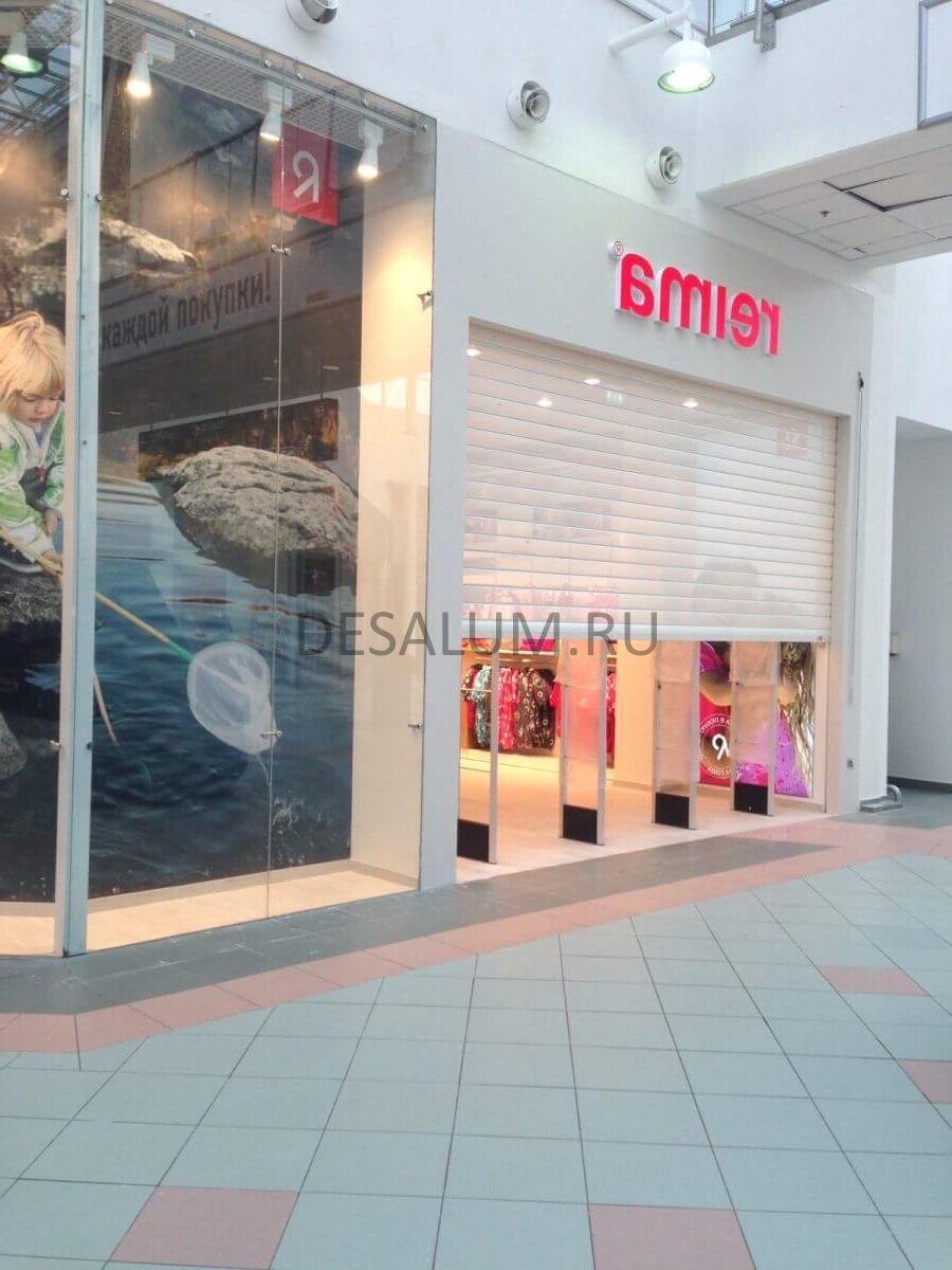 остекление магазинов в торговых центрах desalum