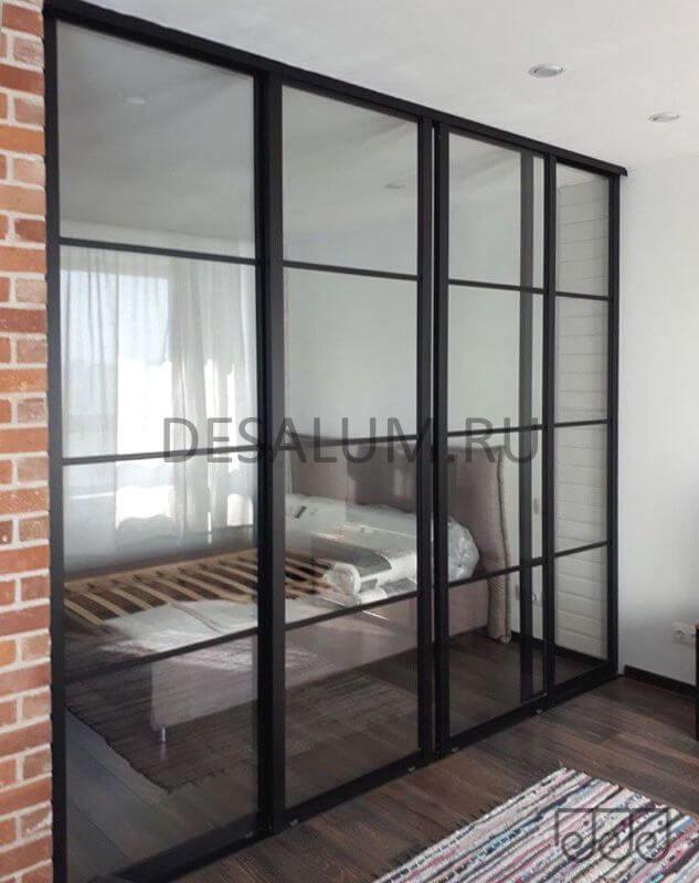Откатные стеклянные двери desalum