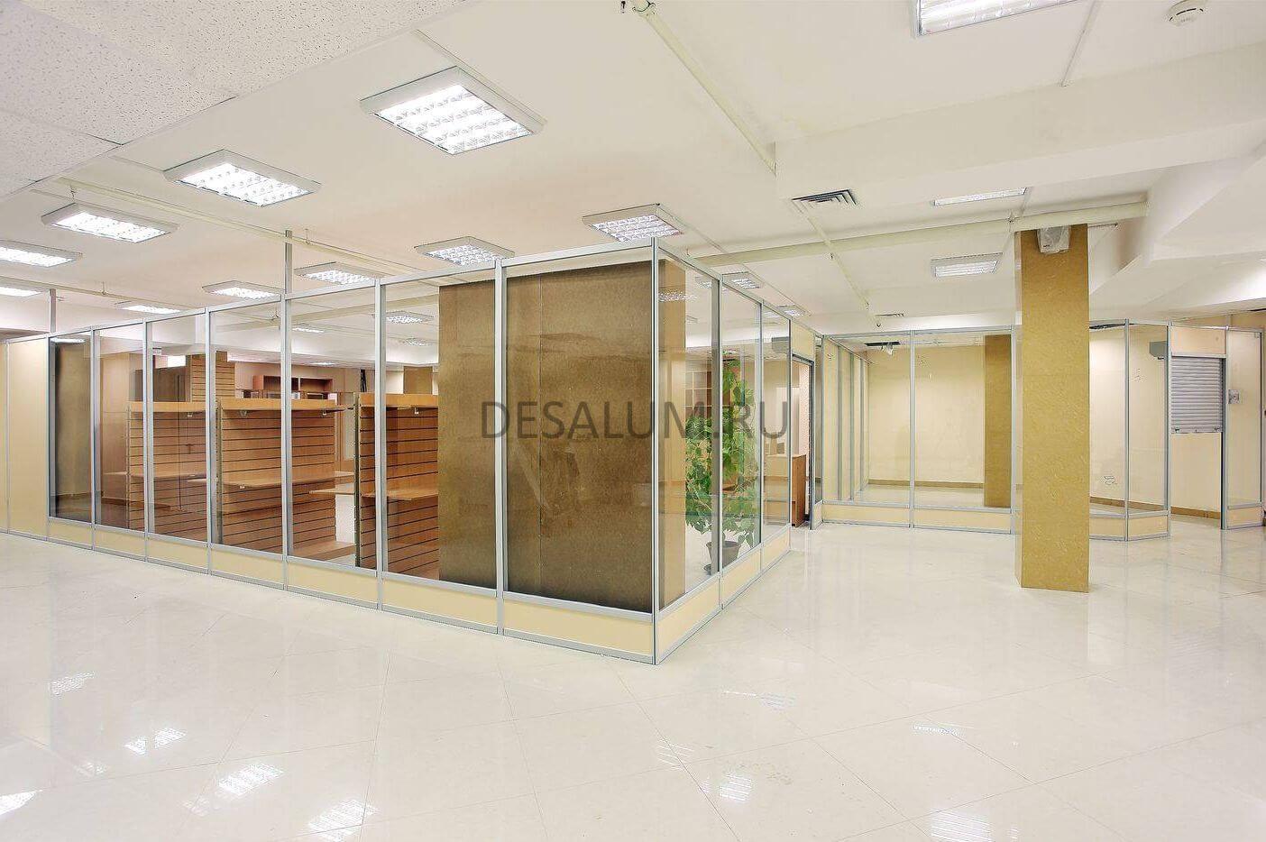 Торговые перегородки для магазинов desalum