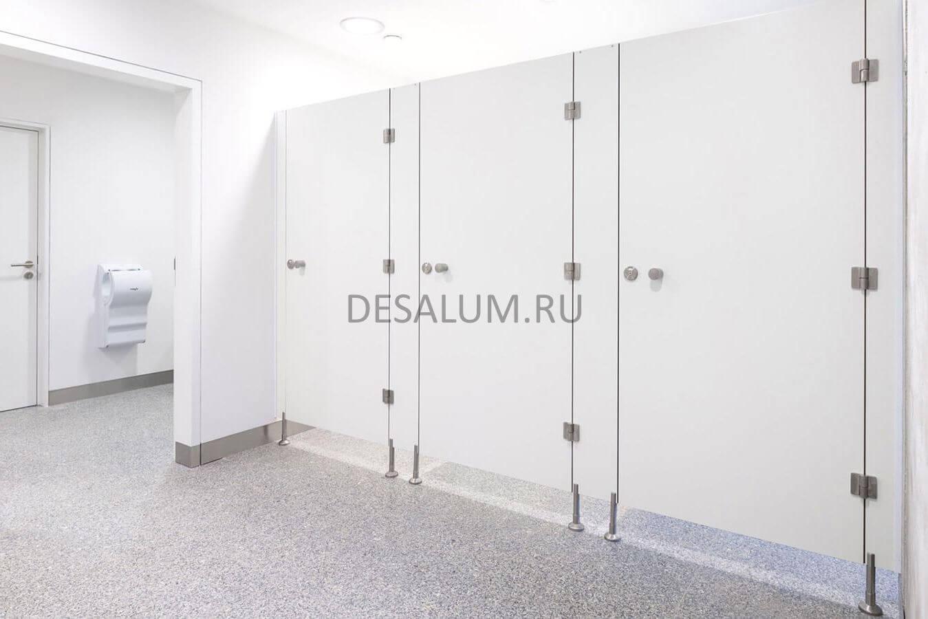сантехнические перегородки серии эконом desalum
