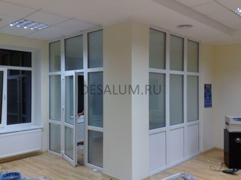 офисные перегородки в москве от desalum