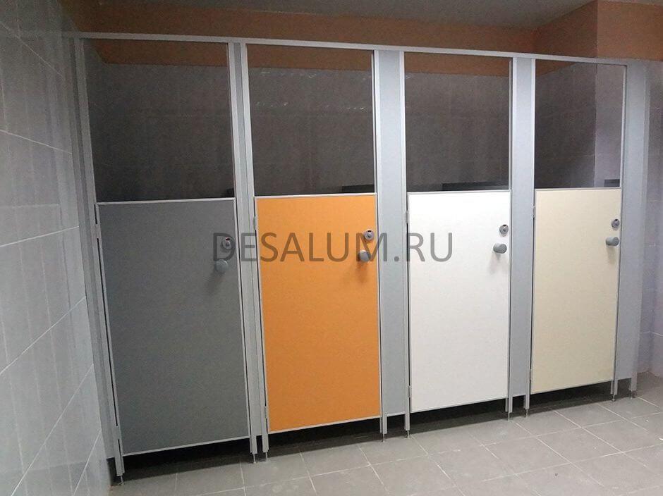 Сантехнические перегородки для детских садов desalum