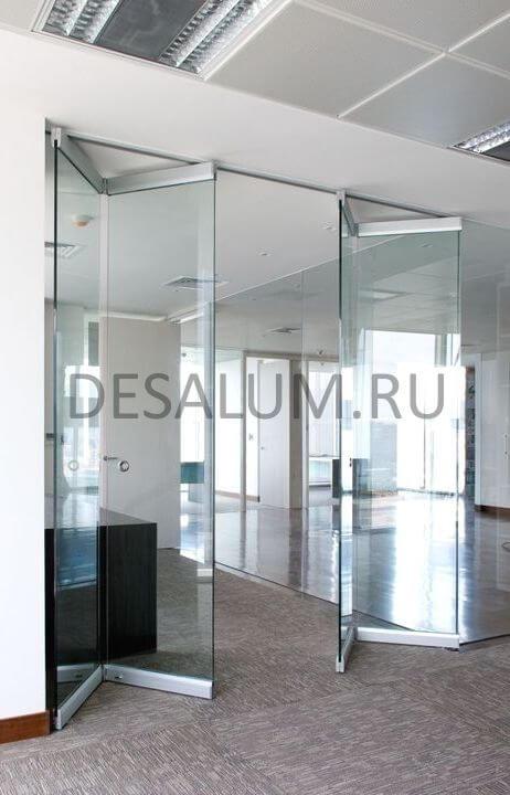 Стационарные перегородки для офиса desalum