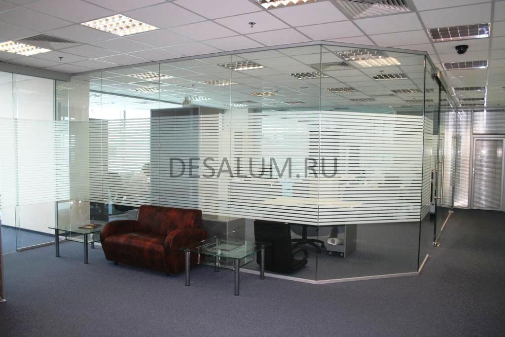 Алюминиевые офисные перегородки desalum