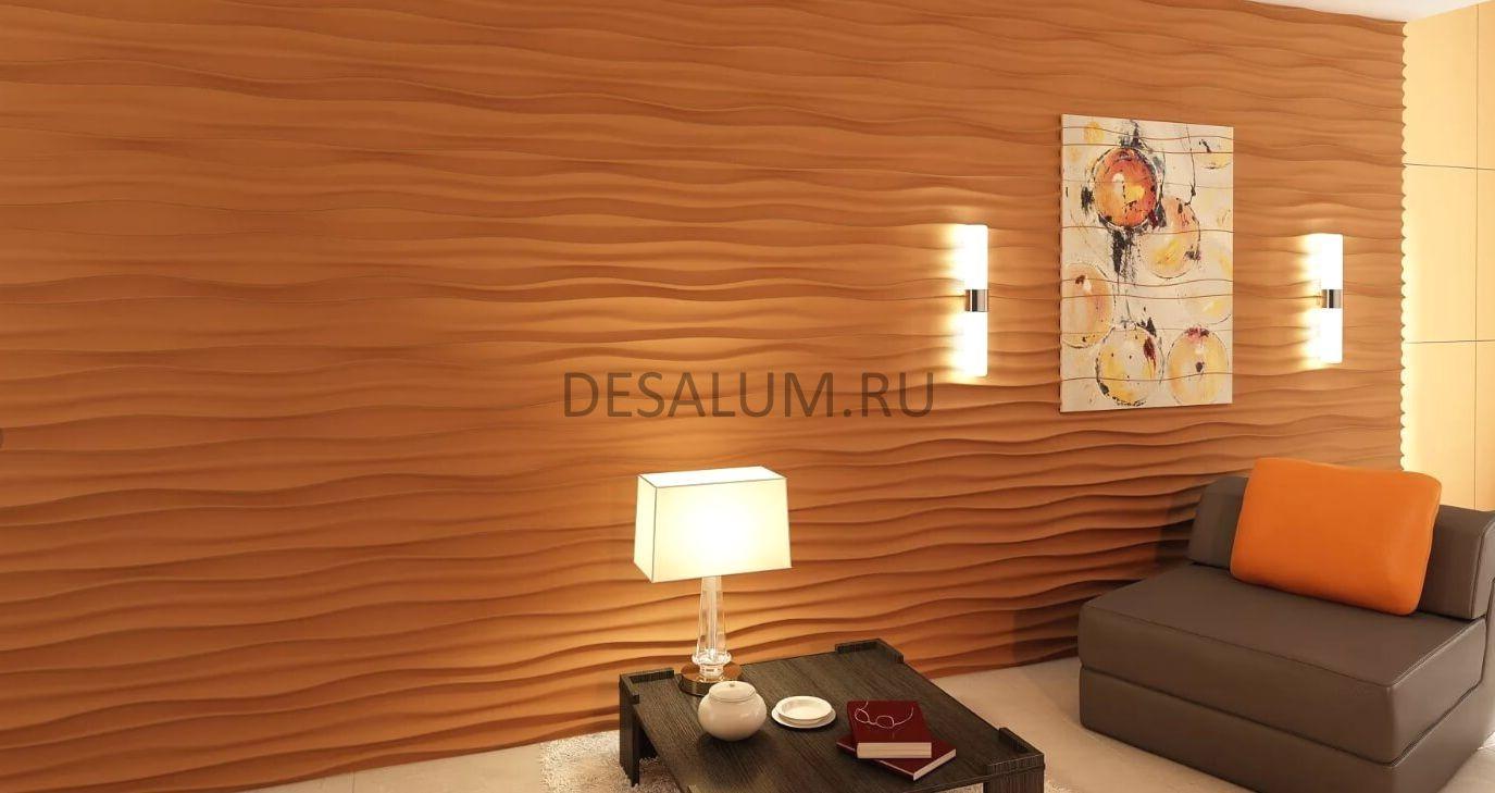 Стеновые 3D панели desalum