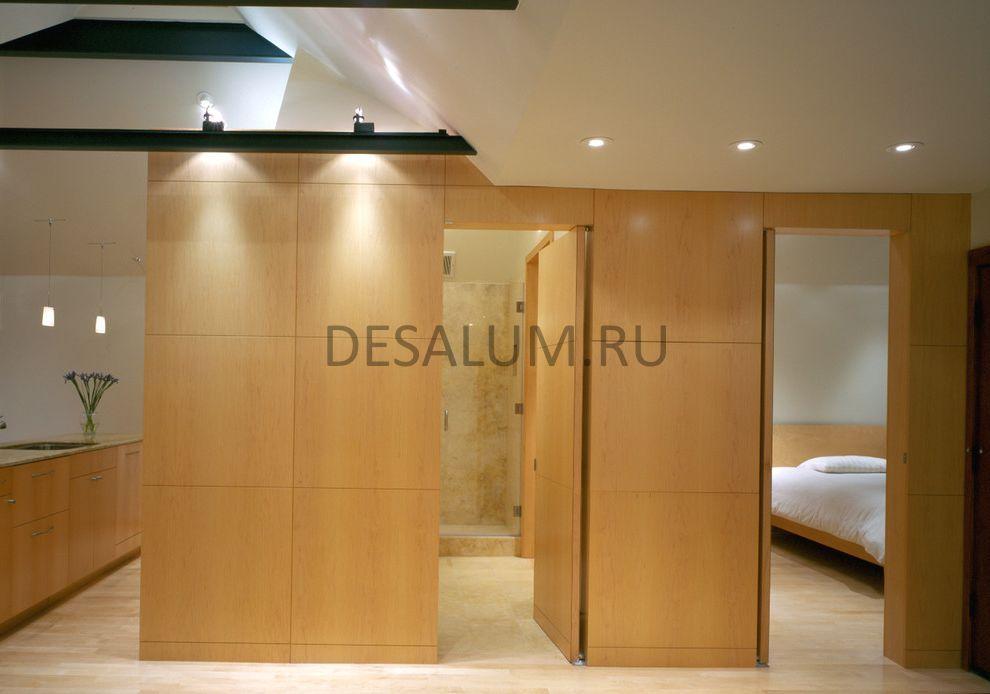 Шпонированные стеновые панели desalum