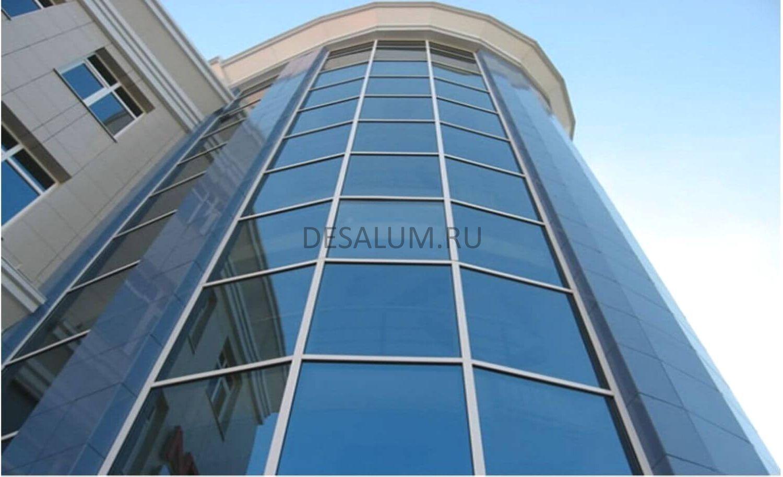 структурное остекление desalum