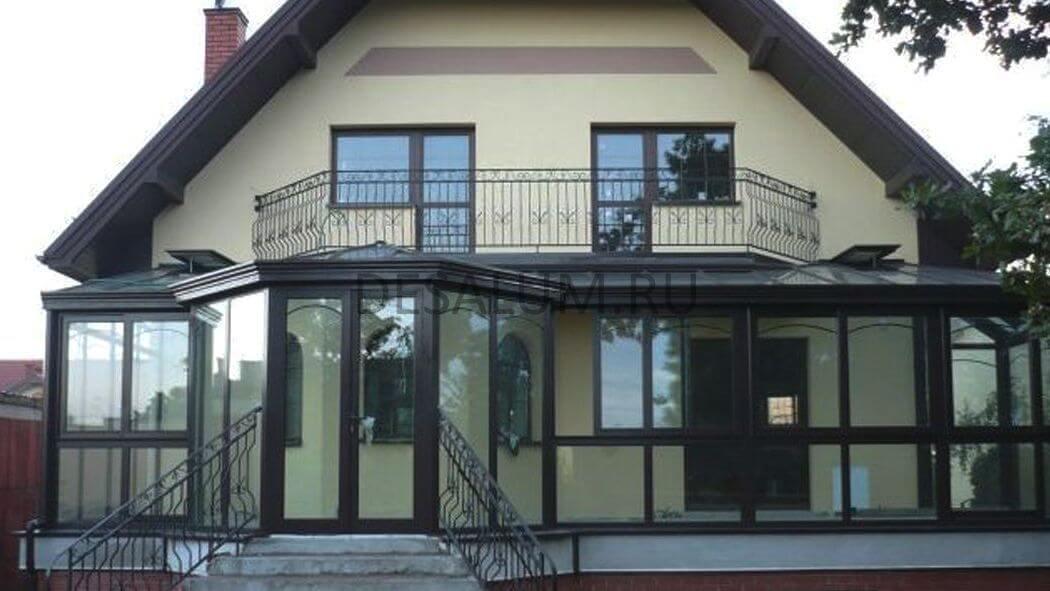 проект крыльцо с балконом для частного дома фото этой