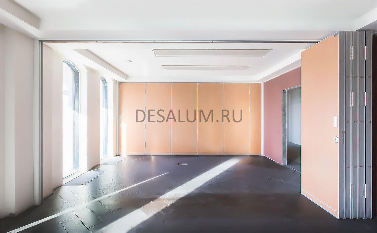 Офисные шумоизоляционные перегородки desalum
