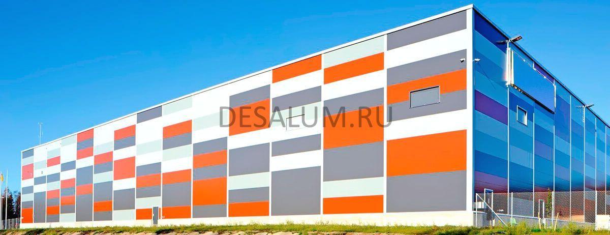 Cтеновые панели для наружной отделки desalum